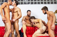 Gay-Porn-Orgy-Paddy-OBrian-Jessy-Ares-Will-Braun-Hector-de-Silva-Klein-Kerr-5