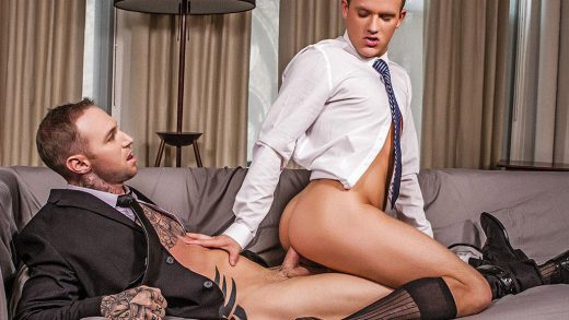 Brandon Wilde's Bareback Premiere With Dylan James