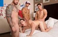 Bro In The Streets, Ho In The Sheets part 4 – Marco, Jordan Levine, Tobias & Trevor Long
