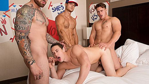 Bro In The Streets, Ho In The Sheets part 4 - Marco, Jordan Levine, Tobias & Trevor Long