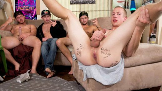 Please Fuck Me Hard – Charlie Pattinson, Trevor Long, Tobias & Johnny