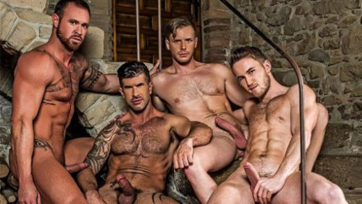Piss Play – Marq Daniels, Michael Roman, Adam Killian & Brian Bonds