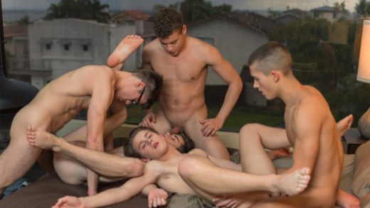 Breathe Orgy - Blake Mitchell, Sean Ford, Joey Mills, Wes Campbell and Corbin Colby