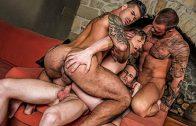 Raw Double Penetration – Adam Killian, Marq Daniels, Brian Bonds, Michael Roman