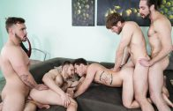 My Whore Of a Roommate – Colby Keller, Jacob Peterson, Paul Canon, Roman Cage & Trevor Long