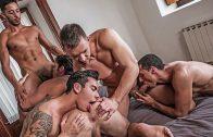 Fivesome DP – Angel Cruz, Devin Franco, Drae Axtell, Andrey Vic & Javi Velaro