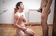 Scott DeMarco Gives Devin Franco A Shower In Piss