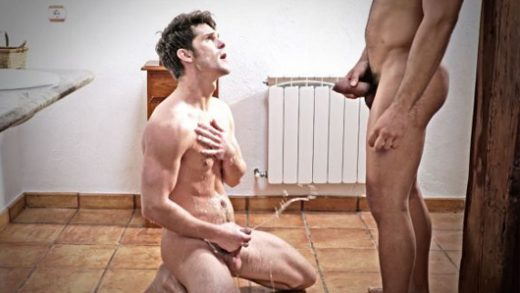 Devin Franco Takes A Golden Shower In Rico Marlons Piss
