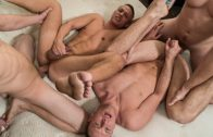 Train Fuck – Tom Faulk, Zane Anders, Aston Springs & Brandon Evans