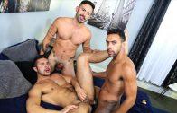 Surprise Big Dick Threeway – Seth Santoro, Jay Alexander, Cesar Rossi