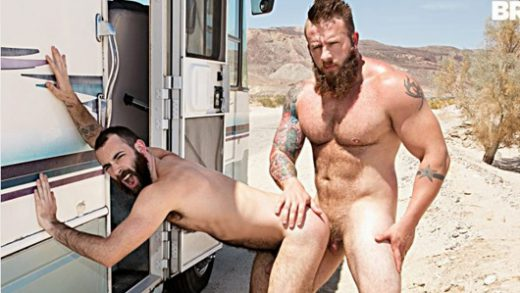 Dirty Rider Pt 1- Aaron Bruiser fucks Stephen Harte