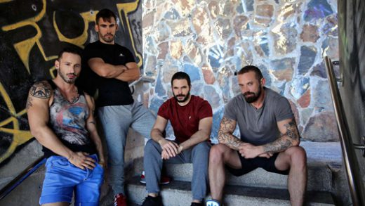 Orgy, Diego Goes To A Bar To Get Pounded - Diego, Stefan Raw & Antonio Miracle