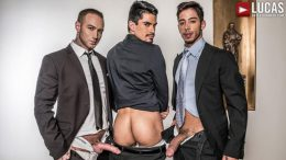 Gentlemen 20: Inside Trade – Dylan James And Drae Axtell Double Team Lee Santino
