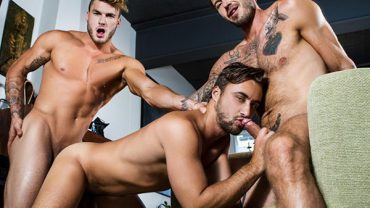 The Guys Next Door Part 4 – William Seed, Zack Hunter, Samuel Stone & Dean Stuart