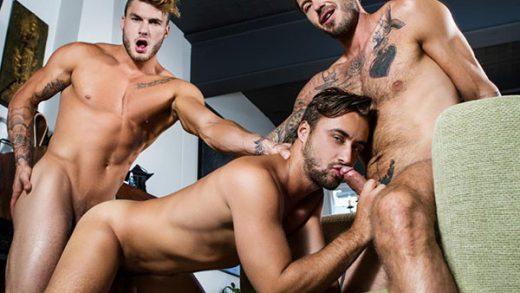 The Guys Next Door Part 4 - William Seed, Zack Hunter, Samuel Stone & Dean Stuart