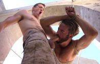 Muscled Rope Slut Abducted, Bound, Flogged, and Fucked – Brendan Patrick & Pierce Paris