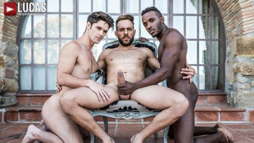 Cum Hungry Butt Sluts - Mario Galeno Barebacks Devin Franco And Pheonix Fellington