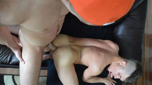 Connor cums on Andy's Hole