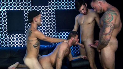 Pimped Out Cum Whore - Justin Case, Jack Andy, Sean Duran, Jace Chambers, Scott DeMarco