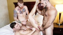 Just Fuck the Third Wheel – Jaxton Wheeler, Bennett Anthony & Jacob Peterson