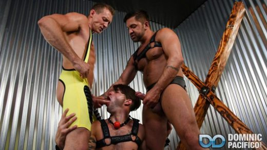 Bareback Bondage Breeders – Pierce Paris, Dominic Pacifico & Casey Everett