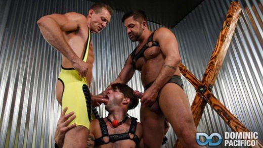 Bareback Bondage Breeders - Pierce Paris, Dominic Pacifico & Casey Everett