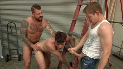 Rocco Steele, Alex Adams & Lance Hart