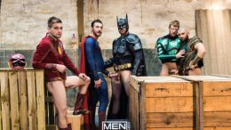 Justice League – A Gay XXX Parody 4 – Brandon Cody, Johnny Rapid, Colby Keller, Ryan Bones & François Sagat