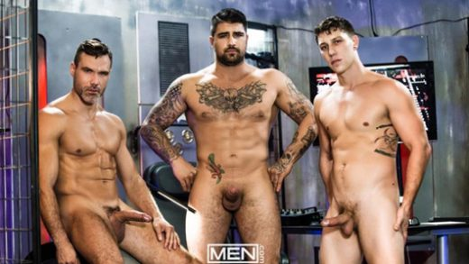 Justice League: A Gay XXX Parody 3 – Ryan Bones, Paul Canon & Manuel Skye