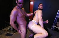 Rocco Steele`s Breeding Party Grows To A Nine-Man Orgy