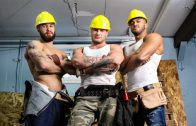 Men at Work – Jason Vario, William Seed, Morgan Blake, Thyle Knoxx and Joey Mentana