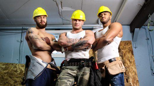 Men at Work - Jason Vario, William Seed, Morgan Blake, Thyle Knoxx and Joey Mentana