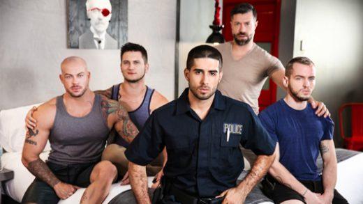 Fugitives pt.3 - Diego Sans, Tristan Jaxx, Allan Lucas, Colton Grey & Sean Duran