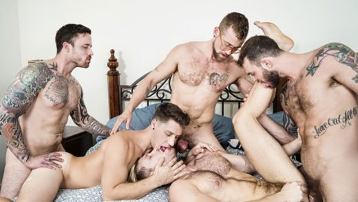 Gaymates Part 3 – Cliff Jensen, Jacob Peterson, Jay Austin, Jordan Levine & Paul Canon