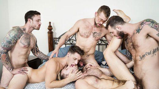 Gaymates Part 3 – Cliff Jensen, Jacob Peterson, Jay Austin, Jordan Levine & Paul Canon