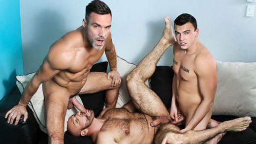 Ramming My Daughter's Boyfriend - Manuel, Mickael & Marco