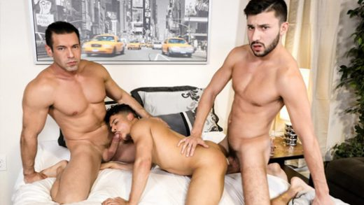 Big Dicked Couple - Alexander Garrett, Scott DeMarco & Armond Rizzo