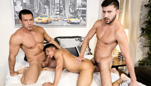 Big Dicked Couple – Alexander Garrett, Scott DeMarco & Armond Rizzo