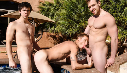 Poolside Cruising – Justin Matthews, Will Braun & Blake Hunter
