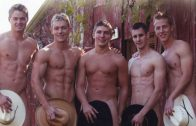Down on the Farm – Connor, Dawson, Dru, Elijah, Travis and Trey
