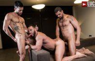 Donato Reyes' Bareback Premiere – Andy Star, Donato Reyes & Frank Tyron