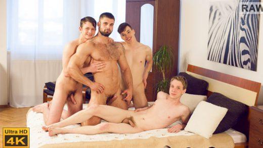 Wank Party - Part 2 - Franta Tucny, Karel Opec, Karel Polak, Leo Lombar