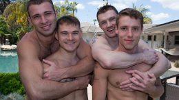 Dennis, Jarek, Liev & Taylor