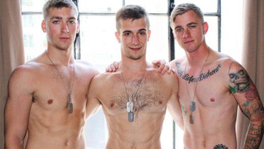 Ryan Jordan, Blaine Jameson & Donte Thick