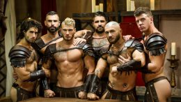 Sacred Band Of Thebes Part 4 – D.O., Diego Sans, Francois Sagat, JJ Knight, Ryan Bones & William Seed